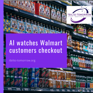 AI watches Walmart customers checkout