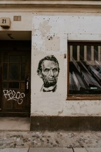 Abraham Lincoln Graffiti