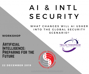 Workshop #9: AI & International Security